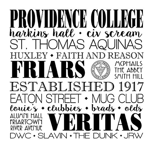 Providence College Coaster - one 4'' x 4'' Coaster