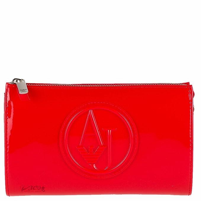 Armani - Cartera de mano para mujer rojo Talla única: Amazon.es: Ropa y accesorios