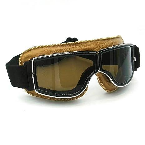 Heinmo motocross Aviator occhiali moto scooter sci retro del casco occhiali per Harley