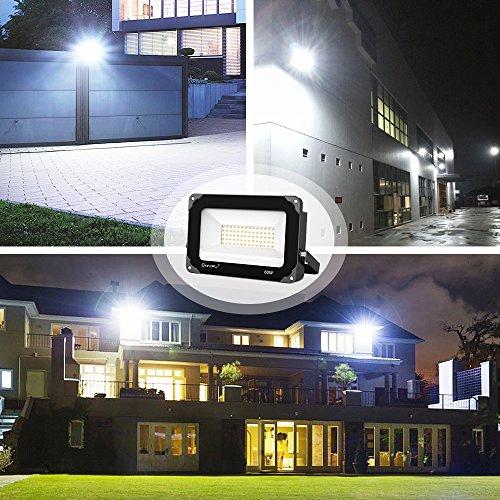 60wLampe Exterieur Projecteur Onforu Mural6000lm Led Lot De 2 u1F5lTKJc3