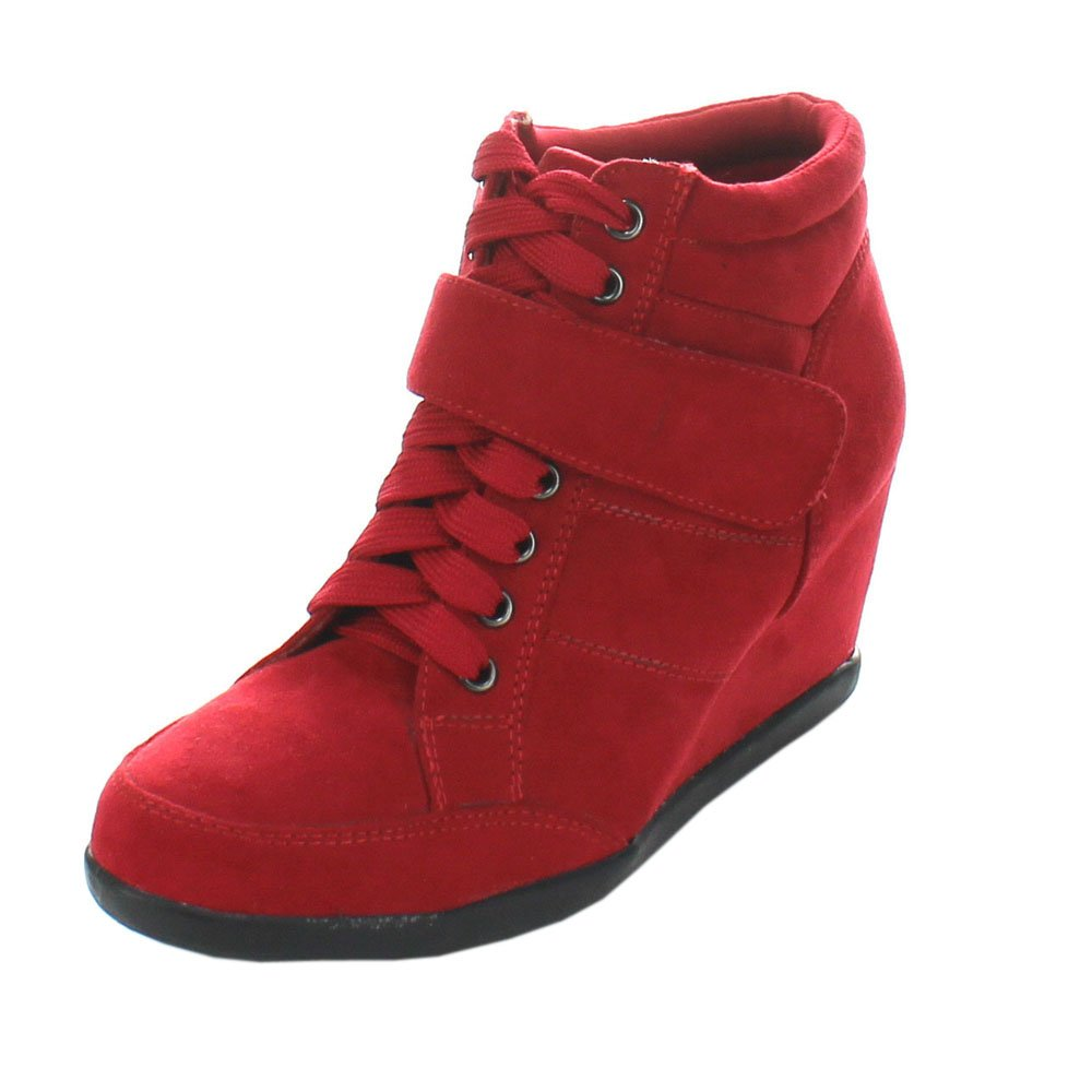 Forever Women's Glimmer B00L42I2M6 6 M US|Red