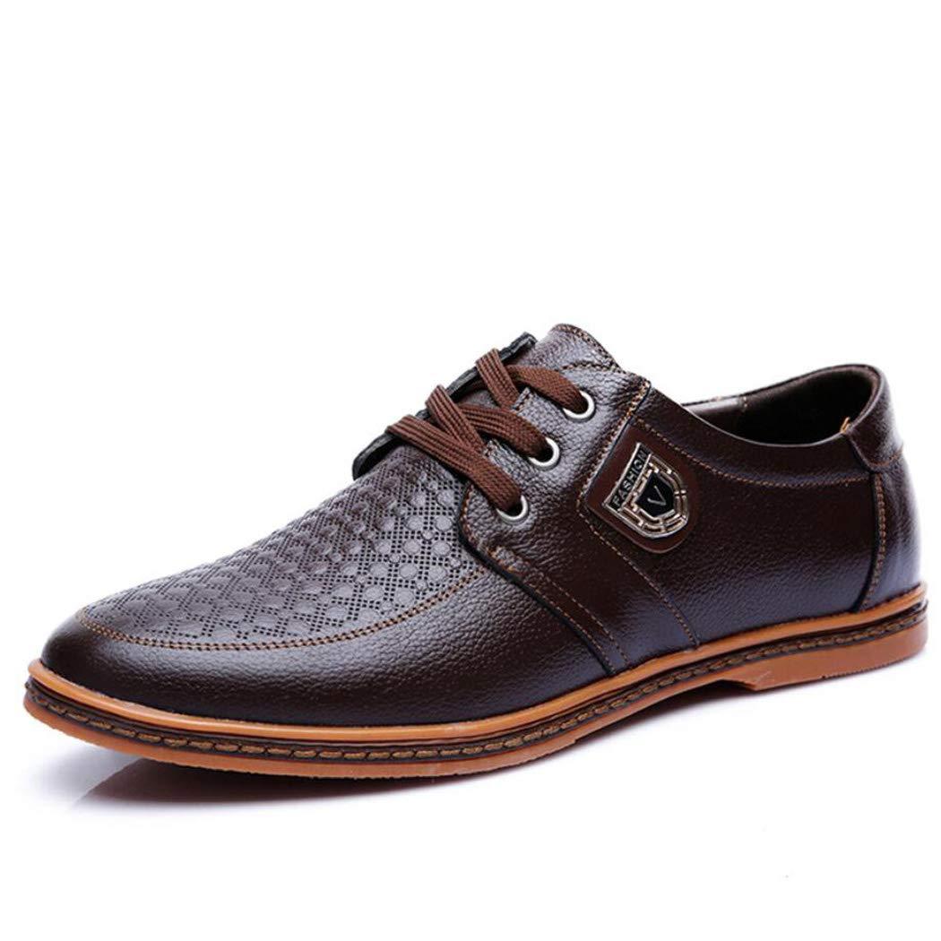 Zxcvb Klassische Schnürschuhe aus Leder für Herren Moderne Tanzschuhe, Herrenschuhe, Britisch Geschäft Casual Schuhe Schwarz