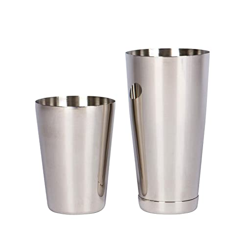 Boston Shaker de acero inoxidable: 2 piezas Set: 18 oz sin ...
