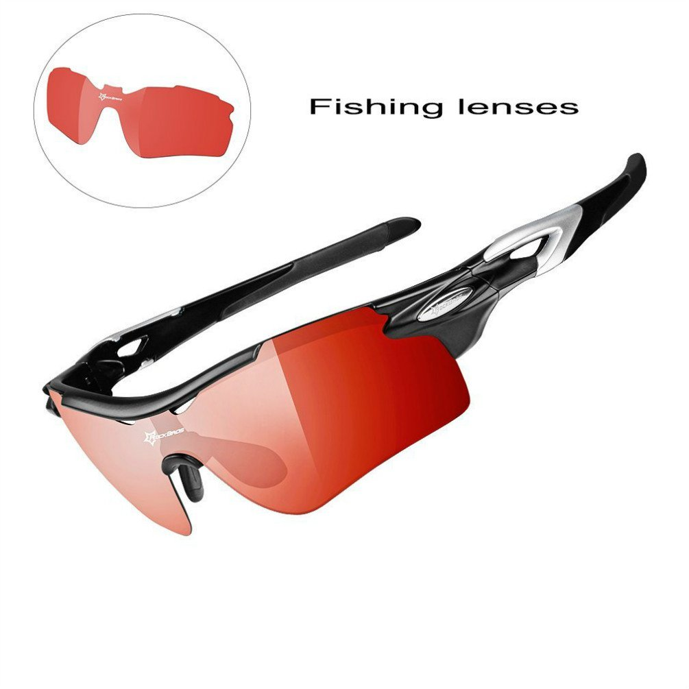 Amazon.com: RockBros Photochromic Lenses Polarized Sunglasses for ...