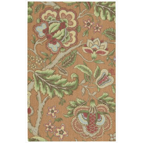 picture of Waverly WGA01 Global Awakening Rectangle Machine Made Rug, 8 by 10-Feet, Spice