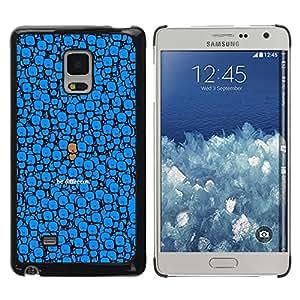 Cubierta protectora del caso de Shell Plástico || Samsung Galaxy Mega 5.8 || LINDO SER DIFERENTE @XPTECH