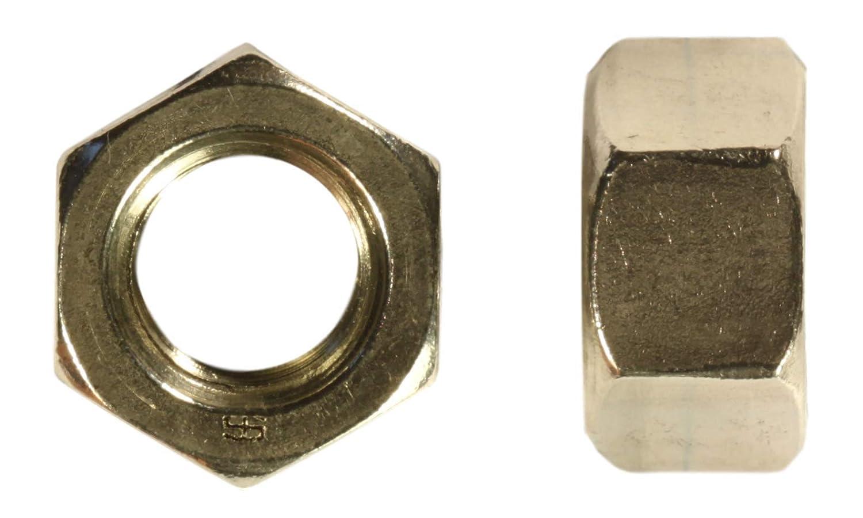 Zinc Yellow Plated 20 Count U-Turn 1//2-20 Grade 8 Hex Nut SAE J995