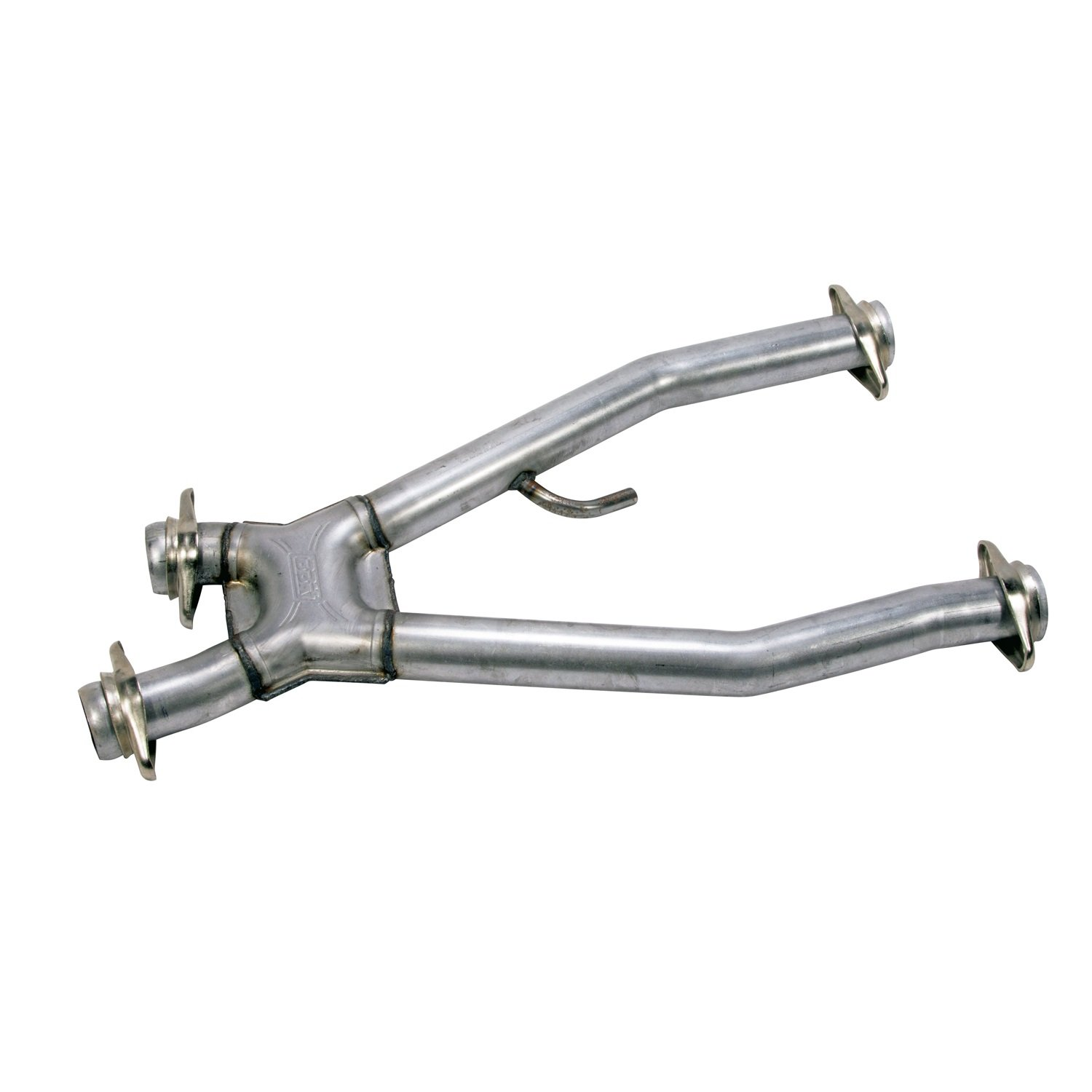BBK 1671 2-1/2'' High Flow Performance Short Mid X Pipe Off-Road Only Version for Ford Mustang 5.0L (Required For Use With BBK Long Tube Exhaust Headers