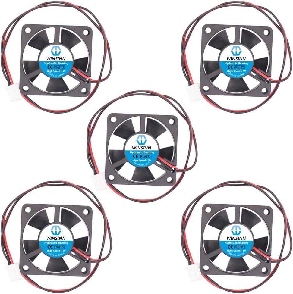 WINSINN 35mm Fan 5V Hydraulic Bearing Brushless 3510 35x10mm - High Speed (Pack of 5Pcs)