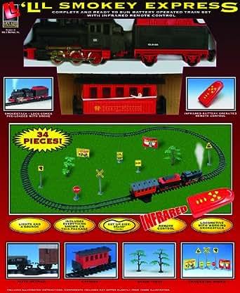 Life-Like Trains  Battery Operated Lil' Smokey Express Train Set