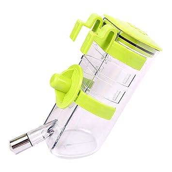 SymbolLife Botella de agua por goteo n-Top Dog Llene la botella de agua del