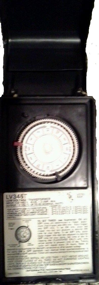 Intermatic Malibu Timer Model LV345T 12v 88 Watt Max Output Low ...