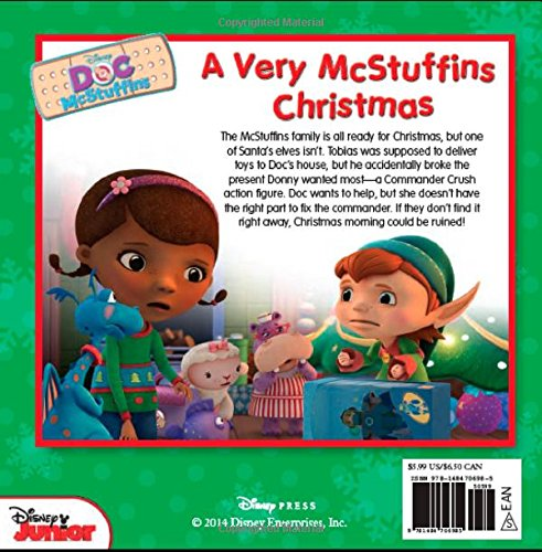 doc mcstuffins a very mcstuffins christmas disney book group sheila sweeny higginson disney storybook art team 9781484706985 amazoncom books