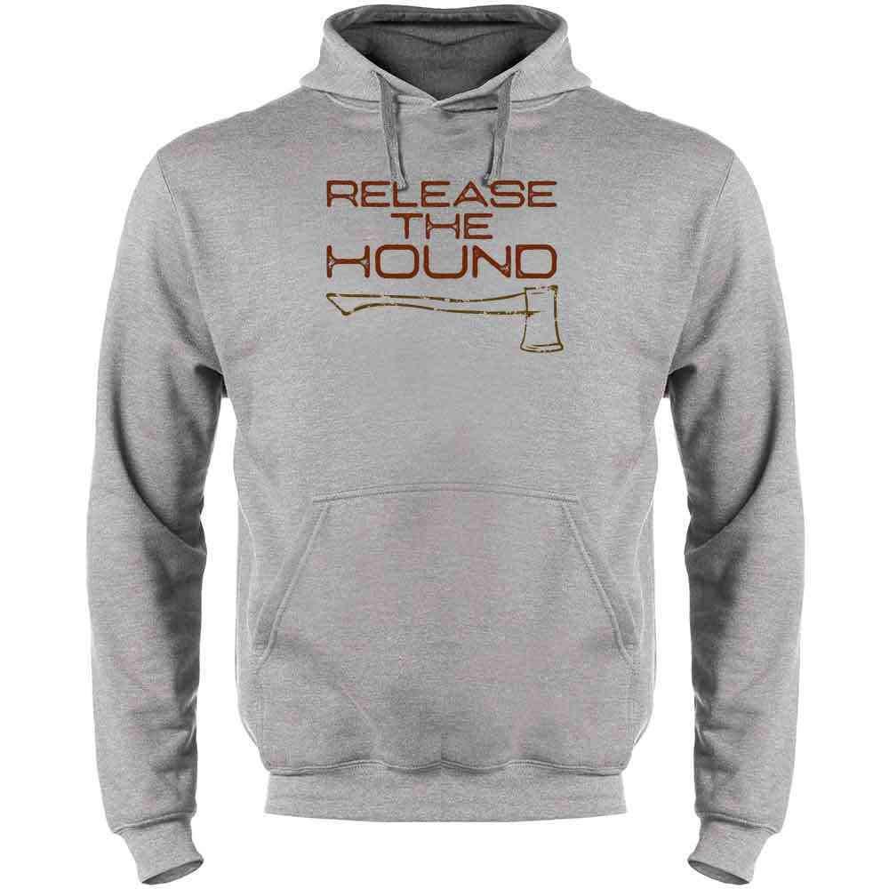 Release The Hound Mens Fleece Hoodie Sweatshirt