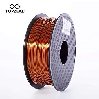 TOPZEAL Filamento de impresora 3D, filamento PLA similar a ...