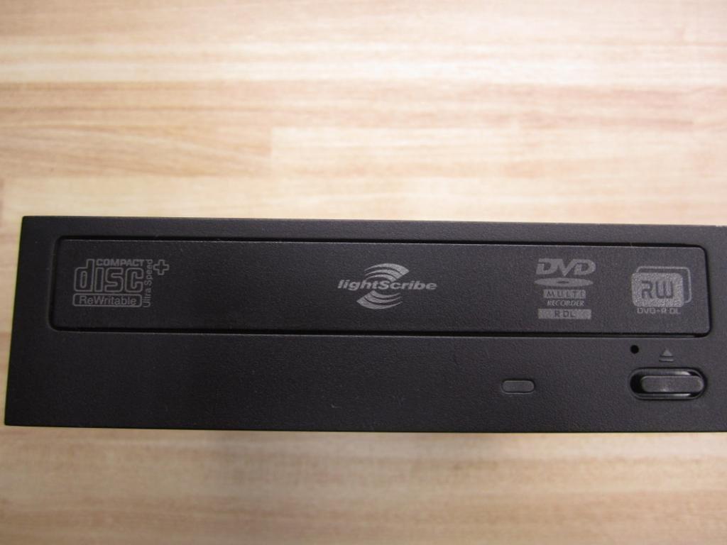 black Hewlett-Packard DH-16AAL Lite-On Ls Dl Dvd+//-Rw Drive