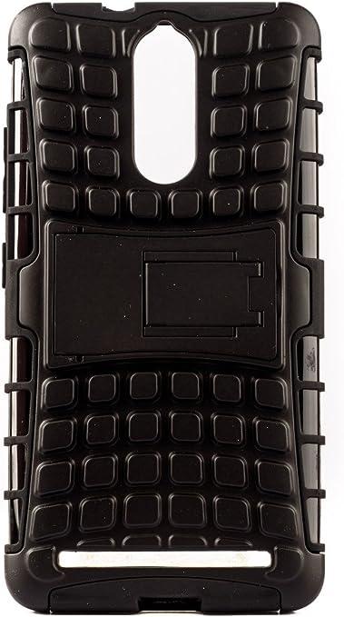 Purple Eyes Kickstand Defender Armor Back Case for Lenovo Vibe K5 Note Black Mobile Phone Cases   Covers