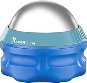 MIRASON Massage Ball Ice Roller Cold Therapy Cryosphere Deep Tissue Manual Massage Ball Stay Cold or Hot for Sore Muscle Relief, Shin Splints, Sore Shoulders, Knee, Foot Recovery Ice Pack (Blue)