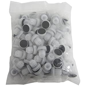 All-plastic Reusable Tasting Corks (100 Count)