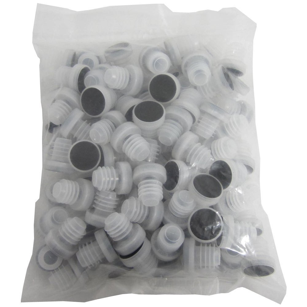 Chicago Brew Werks All-plastic Reusable Tasting Corks (Pack of 100)