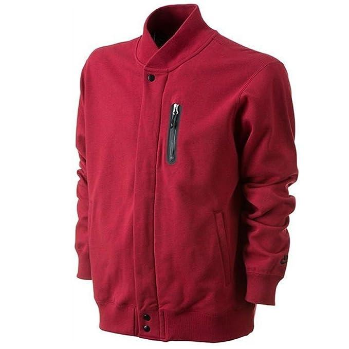 Nike - Chaqueta - para Hombre Rojo Rosso XL: Amazon.es: Ropa y accesorios