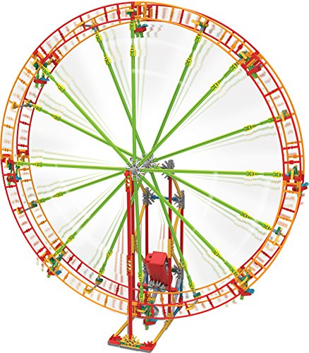 K'NEX Revolution Ferris Wheel Building Set – 344 Pieces with Battery Powered Motor