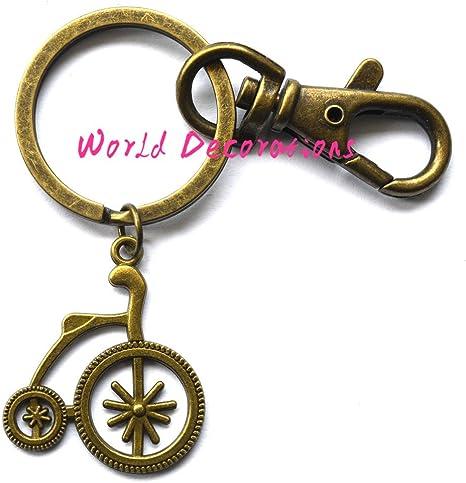 Personalizado para bicicleta llavero, llavero, llavero de deporte ...