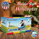 Flying Helicopter Toy Police Set with Magnets