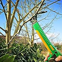GRÜNTEK Lange Gartenschere LAMA 410 mm mit Klinge 55 mm aus japanischem SK5...