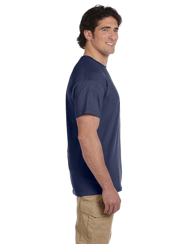 Fruit of the Loom 5 oz Denim 100/% Heavy Cotton HD T-Shirt S 3931