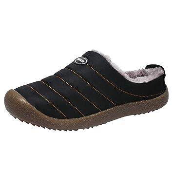 LuckyGirls Hombre Zapatillas Impermeable Casual Caseras Calzado de Planos Transpirables Zapatos Informales Bambas Zapatos para Perezoso Náuticos Mocasines ...