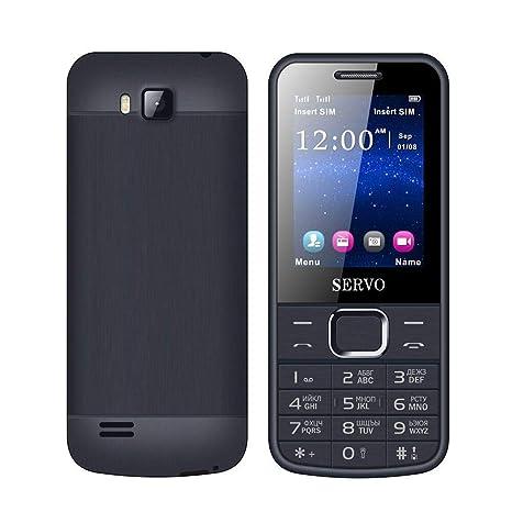 """Teléfono original SERVO 225 2,4""""Tarjetas SIM Dual Teléfonos móviles GPRS Vibración fuera"""