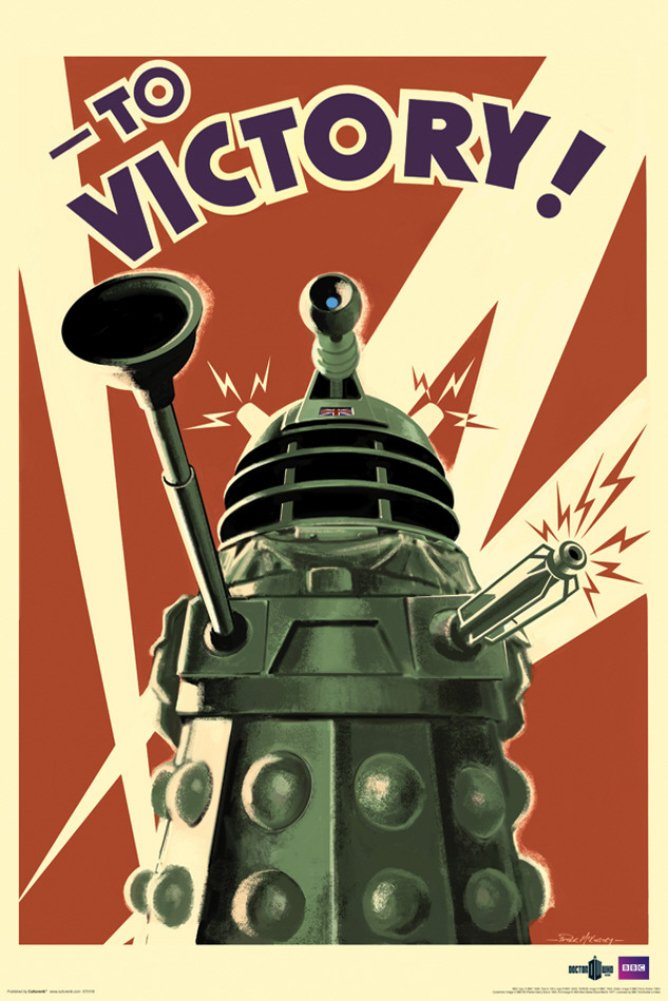 Doctor Who Dalek To Victory TV Poster