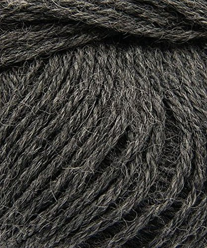 Plymouth 100% Baby Alpaca D.K. Yarn - Charcoal Grey (Plymouth Charcoal)