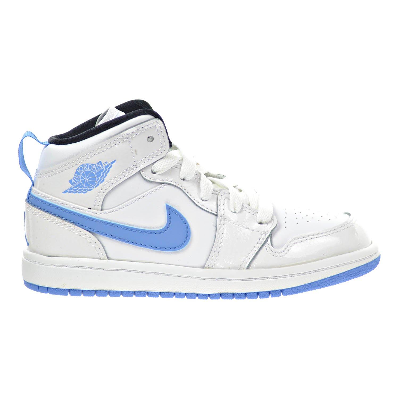 buy popular a5de3 207a3 Amazon.com | Jordan 1 Mid BP Little Kid's Shoes White/Legend ...
