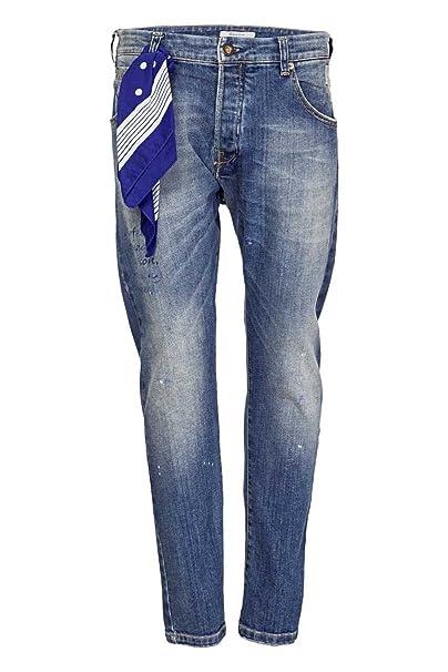 37f180219d2f Berna, Jeans da uomo Slim Leg Ruhr, colore: blu Blau 48: Amazon.it:  Abbigliamento