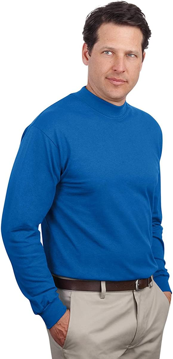 Kelly Port /& Company Mens Sweater Mock Turtleneck