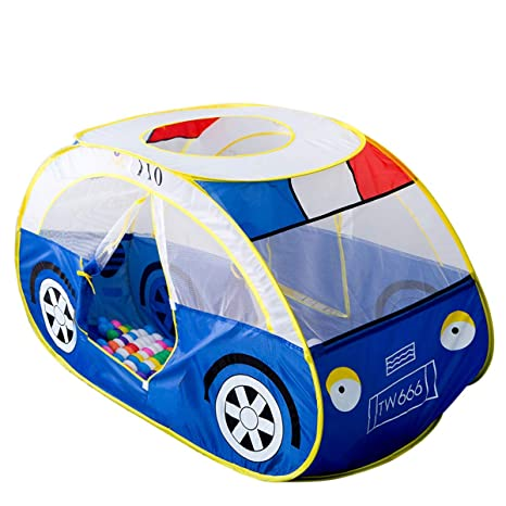 23cf8399955d Anyshock Large Kids Play Tent, Pop Up Indoor and Outdoor Cute Police Car  Play House