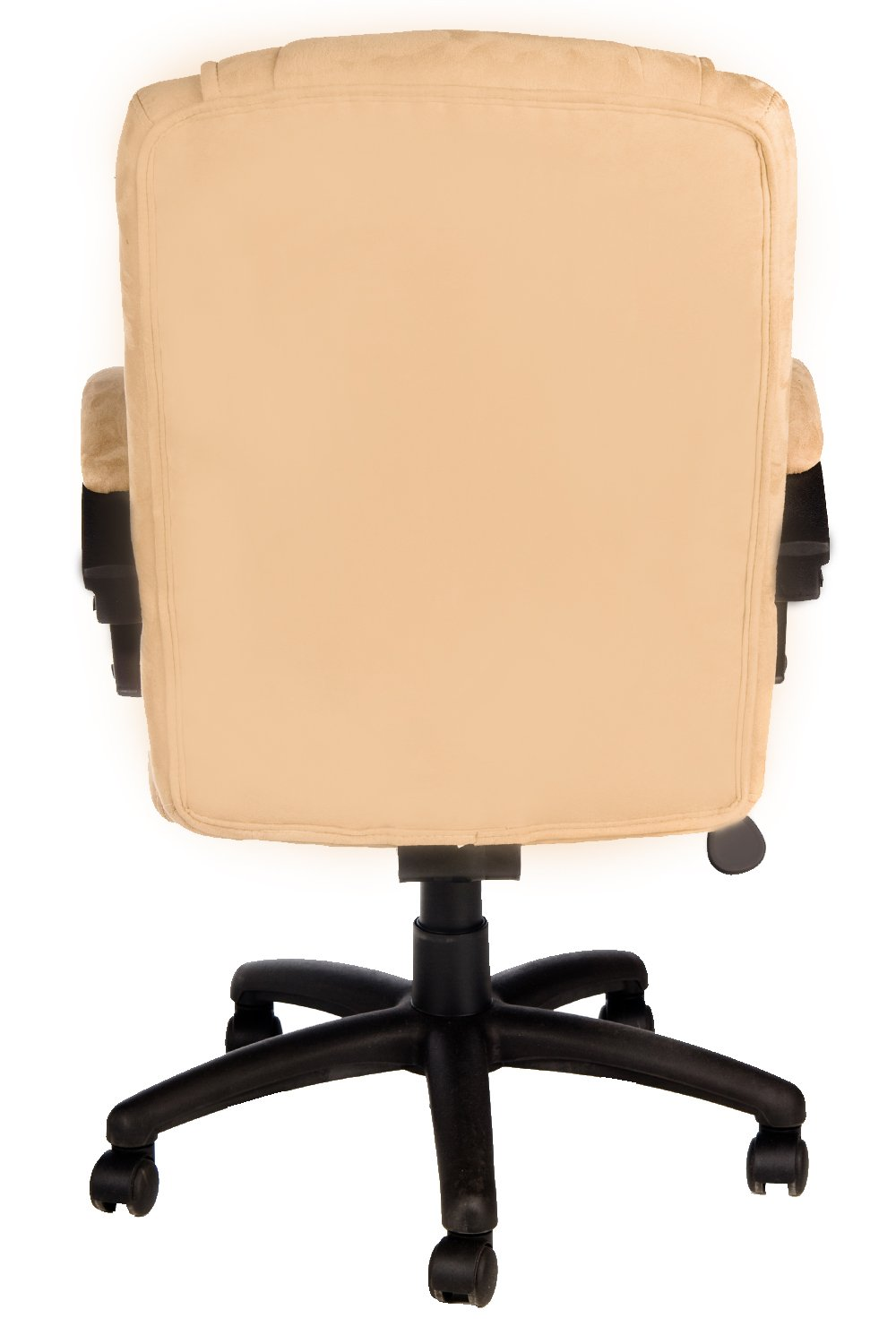 Amazon.com: Comfort Products Padded Faux Suede Executive Chair, Beige:  Kitchen U0026 Dining