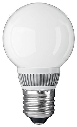 Goobay 30280 - Bombilla redonda pequeña LED E27