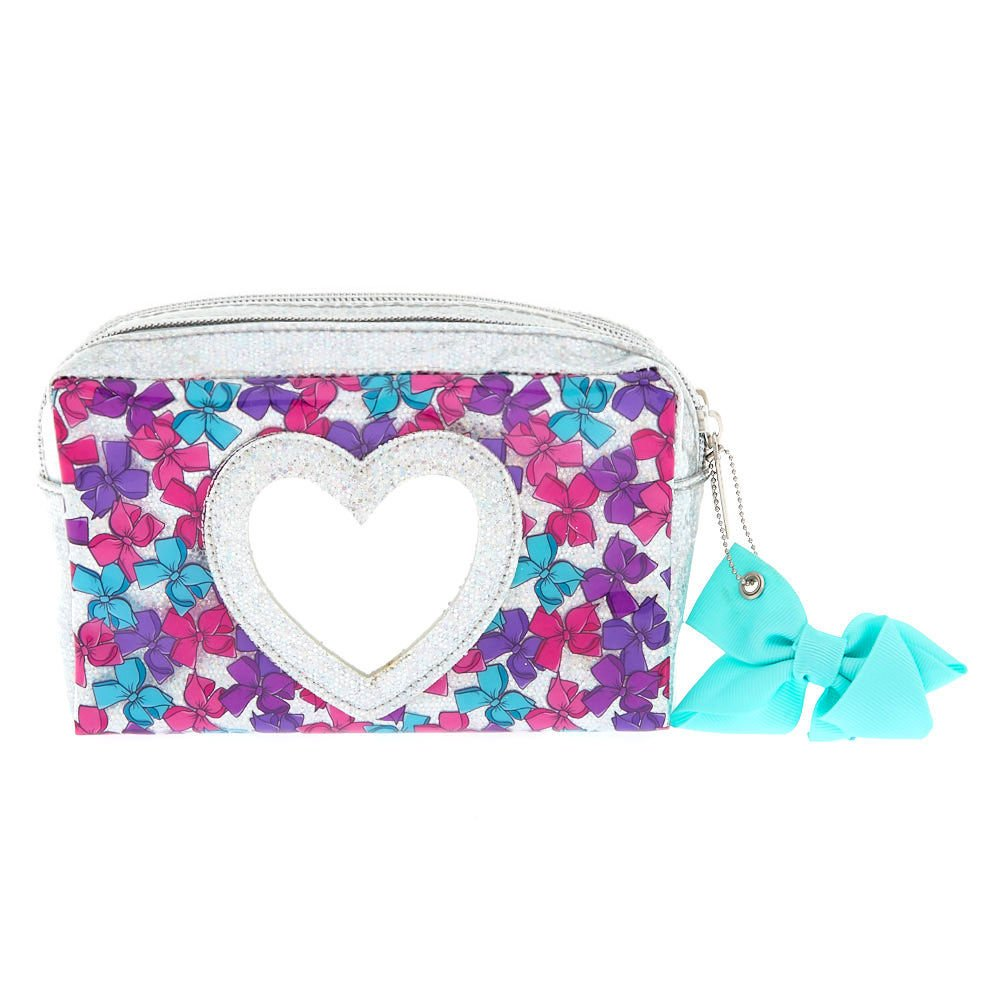 Amazon.com: Claire s Girl s Jojo Siwa bolsa de cosméticos ...