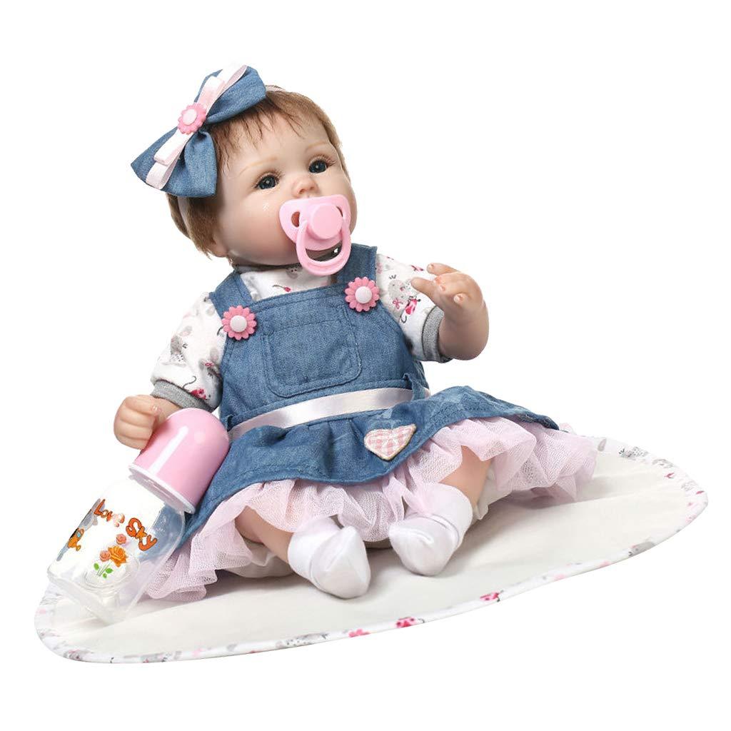 Baoblaze Dress Costume Neonato Bambola Simulazione Abbigliamenti Vestiti per Doll - B