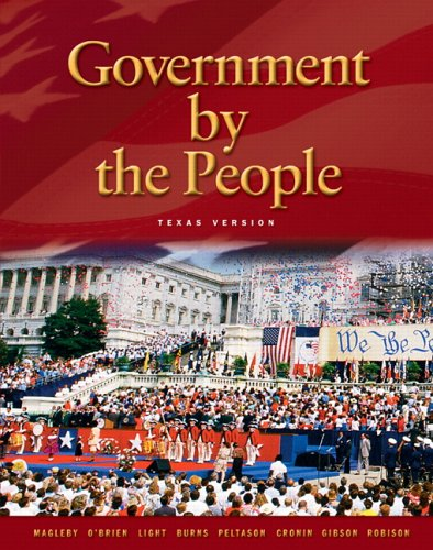 Government by The People, Texas Edition (21st Edition)