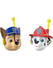 PAW PATROL S17995 KD Toys 3D Character Walkie Talkies, Blue. Red