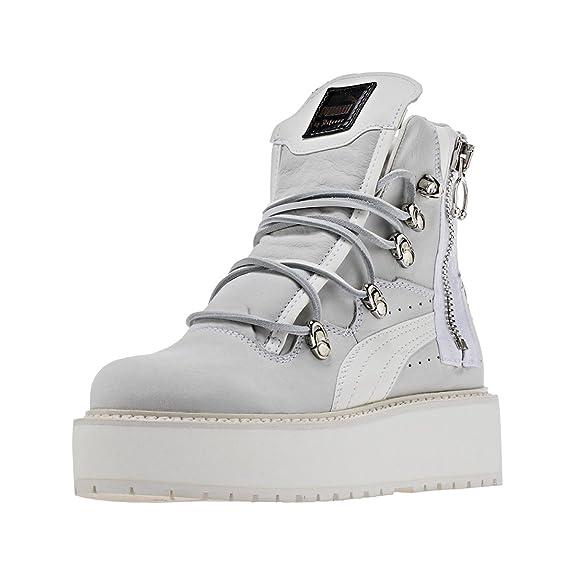 Zapatillas deportivas SB Rihanna Puma White / Puma White / Puma White para hombres: Amazon.es: Zapatos y complementos
