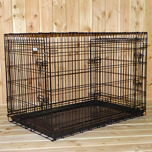 JoyPet.eu Stabil dog cage with 3 doors and free non-slip feet 109x71x78cm
