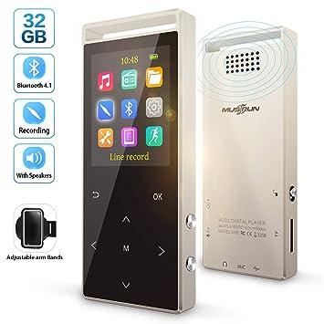 Amazon.com: Reproductor de MP3, reproductor de MP3 con ...