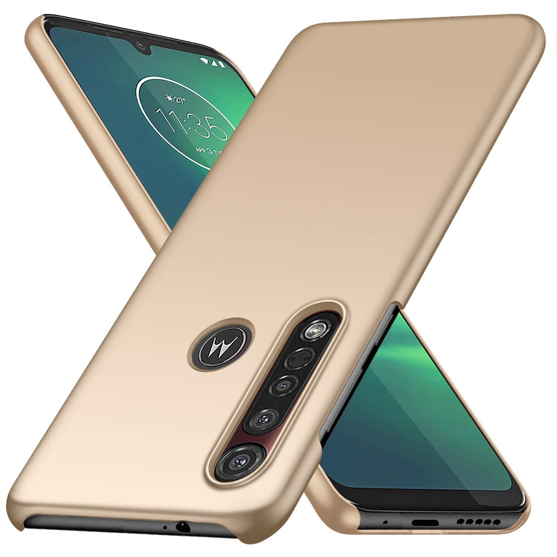 Funda Super Delgada Para Motorola G8 Plus, Dorado