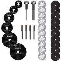 Snijschijven voor Dremel, Schijven Boorbladen voor Rotary Tool Accessoire, Mini Zaagbladen Set voor Hout Plastic Glas…