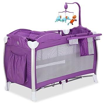 Amazon.com: Cuna de viaje multifuncional para cuna de bebé ...
